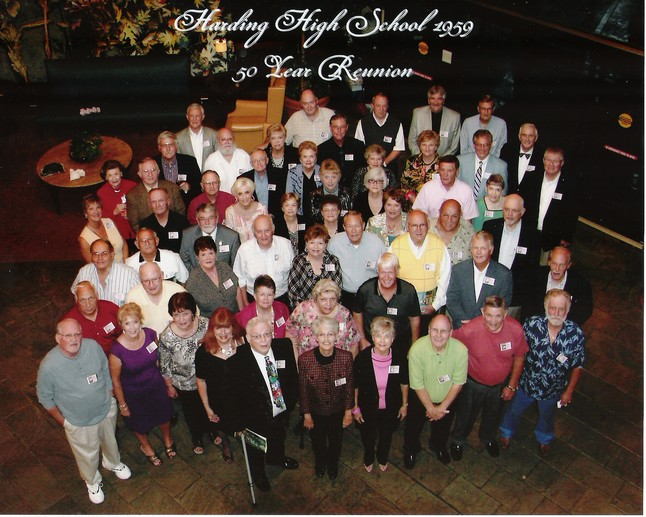 Harding Class of 1959 Reunion Picture